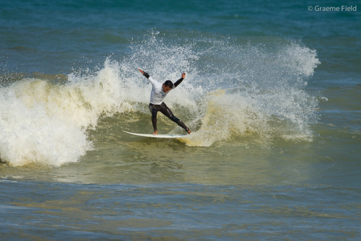 Dillon Fernandes, men's surfing finalist