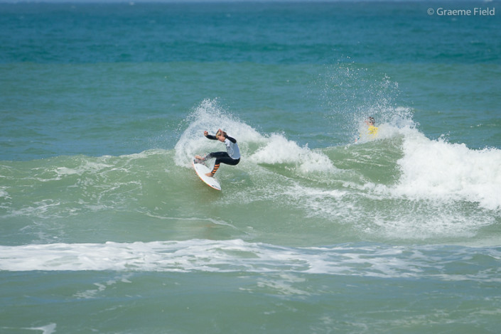 English Junior Surfing Team top seed Jake Elkinhgton