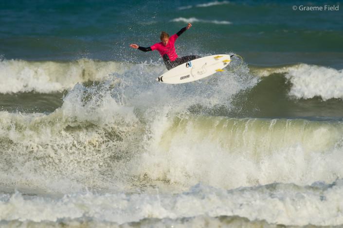 Jordy Maree, flying
